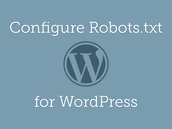 Configure Robots.txt for WordPress