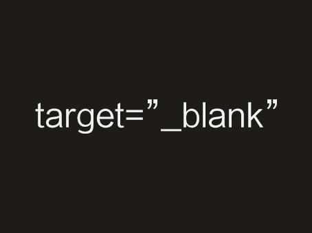 wordpress a target blank