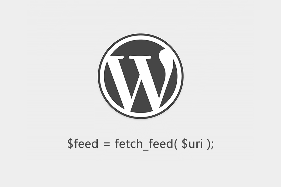 WordPress fetch_feed