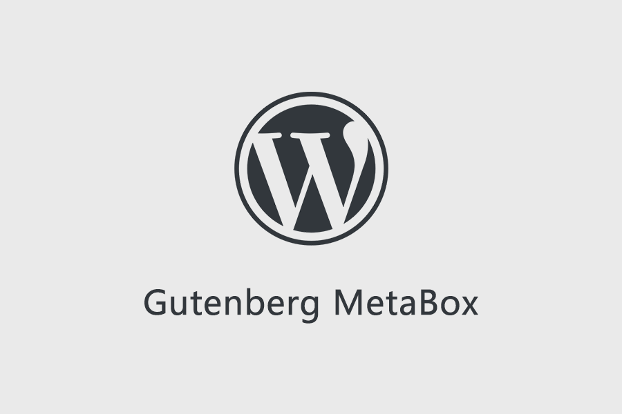 Gutenberg MetaBox