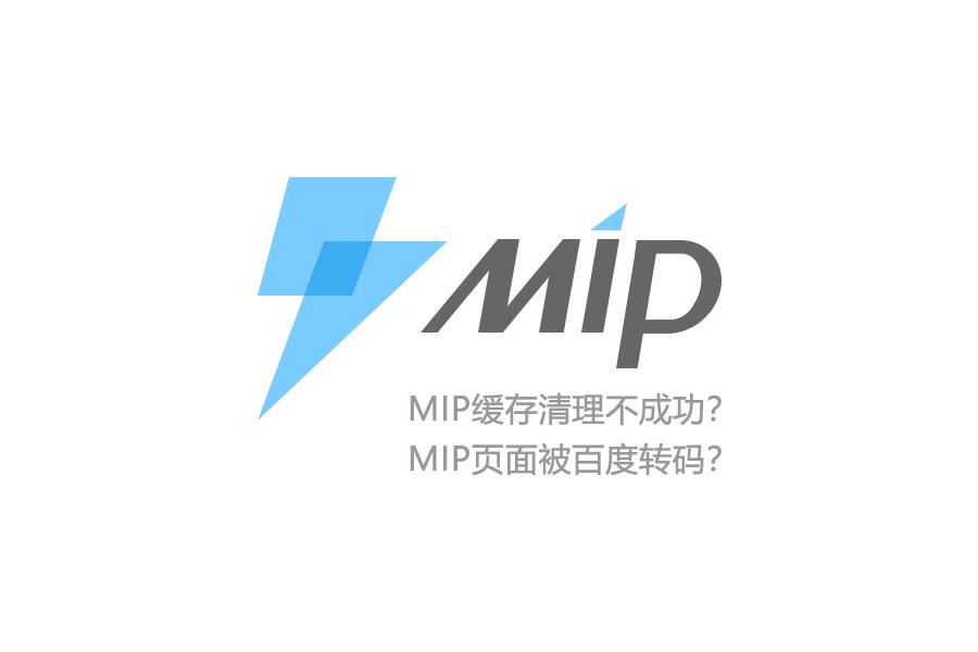 MIP 页面缓存清理 转码