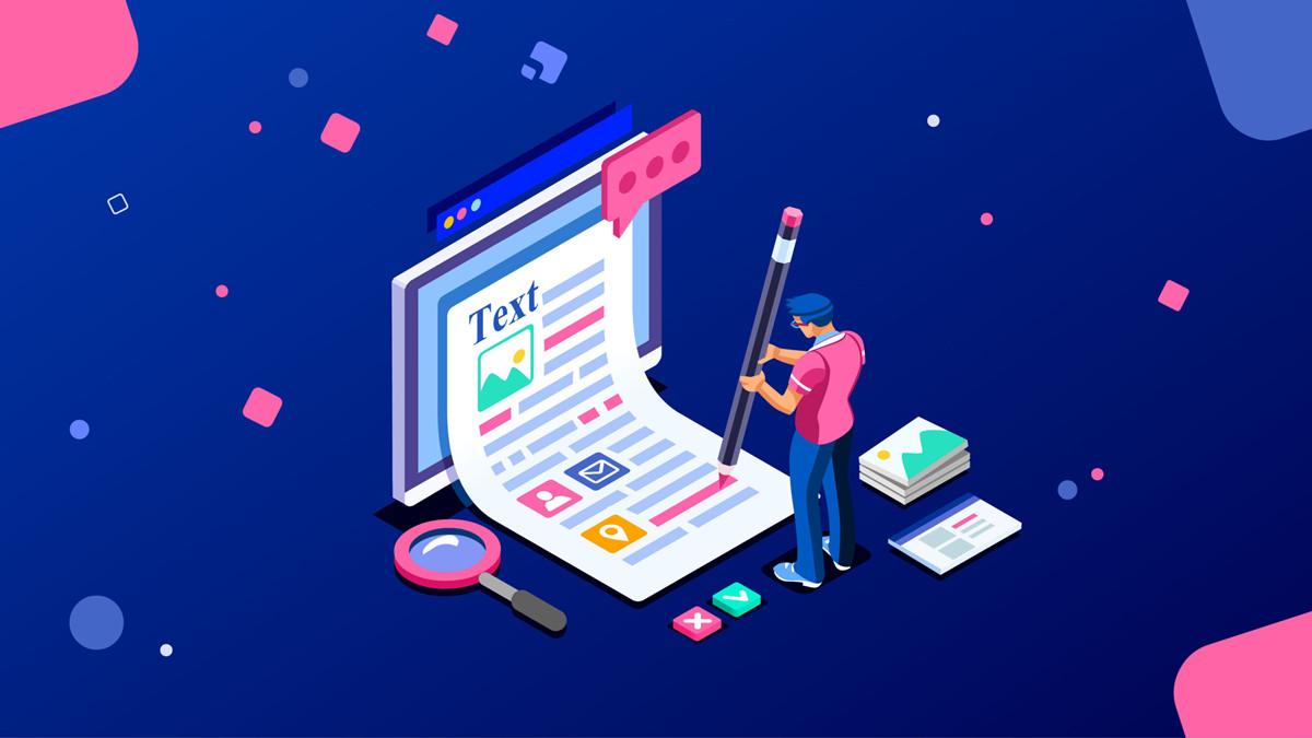 网站内容 Website content