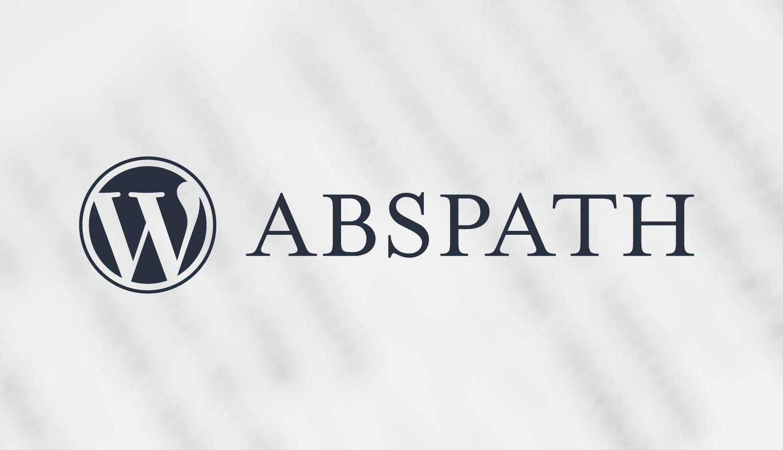 WordPress ABSPATH